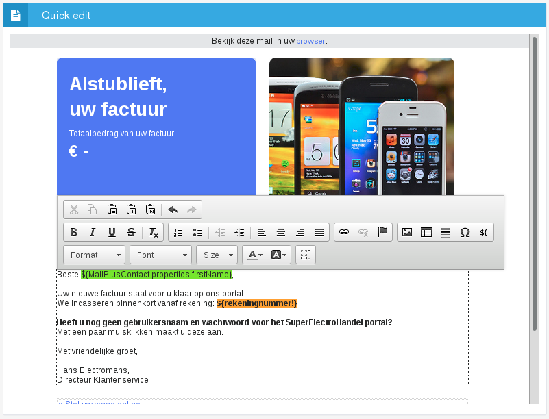 Flowmailer Knowledgebase   content:english:manual:templates